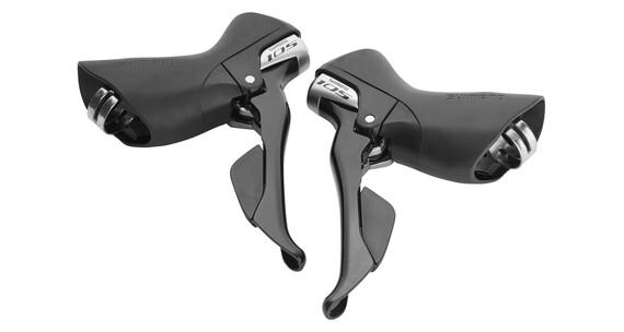 Shimano 105 ST-5800 Zestaw klamkomanetek 2 x 11-biegowa czarny